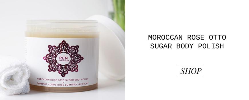 REN clean skincare Körperpeeling Moroccan Rose Otto Sugar Body Polish
