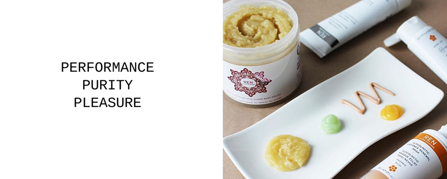 REN clean skincare Naturkosmetik Performance Purity Pleasure