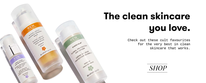 REN clean skincare natural cosmetics Cult products