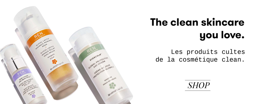 REN clean skincare natural cosmetics green beauty Evercalm Clarimatte natural