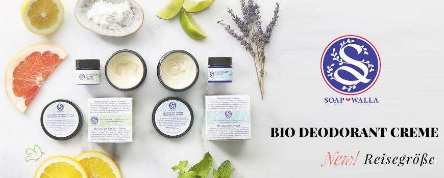 Soapwalla Bio Deodorant Creme Naturkosmetik vegan Körperpflege citrus mini