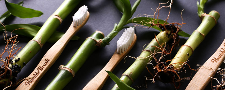 Humble Brush Sustainable Bamboo Toothbrush eco friendly biodegradable for Adults and Kids natural