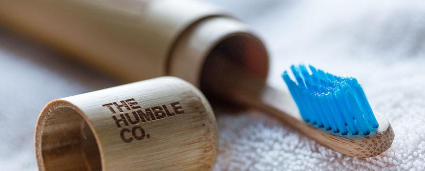 Humble Brush Zahnbürste aus Bambus Nachhaltig umweltfreundlich vegan Nylon Borsten weich