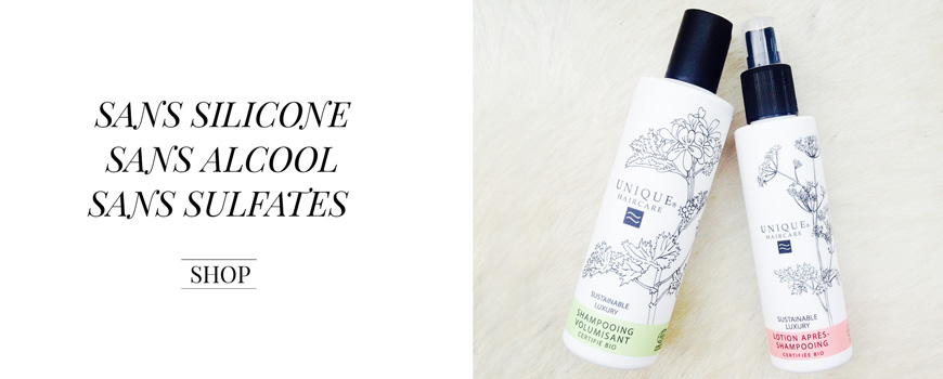 Unique Haircare Volumen Shampoo Bio Haarpflege Sustainable Beauty aus Dänemark Naturkosmetik Ecocert Zertifizierung