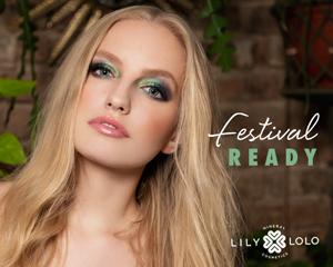 Lily Lolo maquillage minéral Look Eté Festival Fun yeux