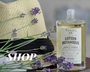 Féret Parfumeur Lotion Botanique Huile corps bio naturel made in France