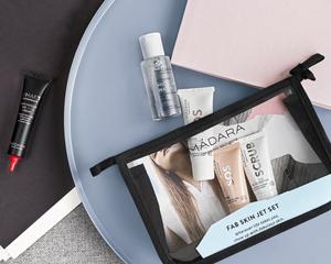 Madara cosmétique bio Trousse voyage soin visage Fab Skin Jet Set