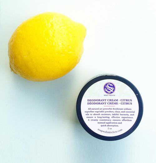 Soapwalla Deodorant Crème Naturel Citrus vegan bio