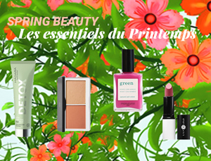 Beauté bio cosmetiques naturels Printemps green l'Officina Paris e-shop Lily Lolo Manucurist Madara maquillage