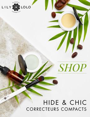 Lily Lolo Correcteur Compact minéral maquillage beauté naturel green
