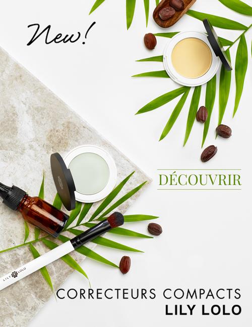 Lily Lolo -maquillage minéral - Nouveaux Correcteurs Compacts