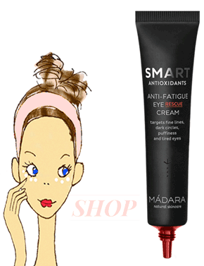 Madara contour yeux bio anti fatigue Smart Antioxidants