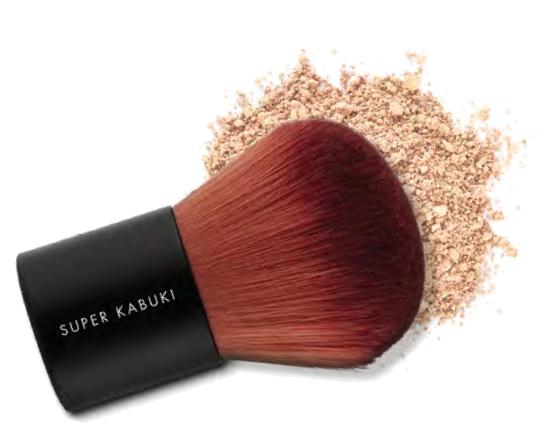 Lily Lolo Fond de Teint minéral poudre Pinceau Super Kabuki Brush