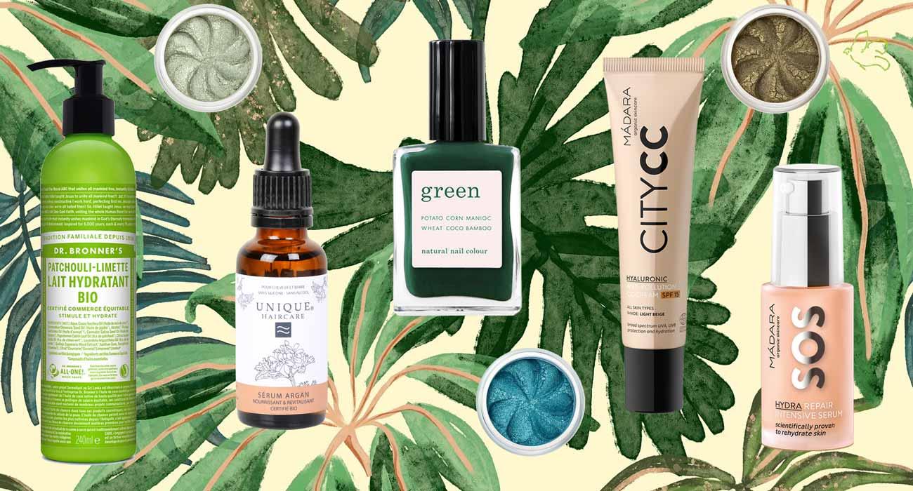 l'Officina Paris cosmetique bio beauté naturelle essentiels de la rentrée Manucurist, Dr. Bronner's, Unique Haircare, Lily Lolo, Madara