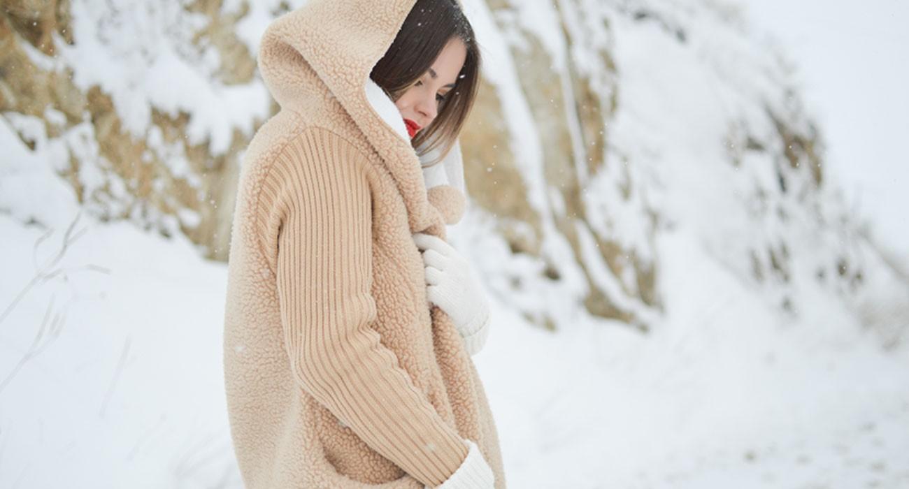 Organic beauty winter care cold natural cosmetics moisturizer lip balm